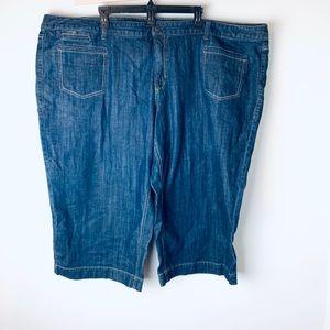 Old Navy Capri jeans stretch plus size 26